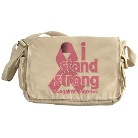 Breast Cancer Stand Strong Messenger Bag