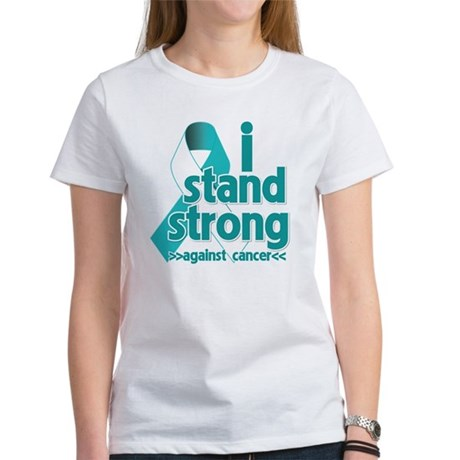 Stand Strong Cervical Cancer Women's T-Shirt