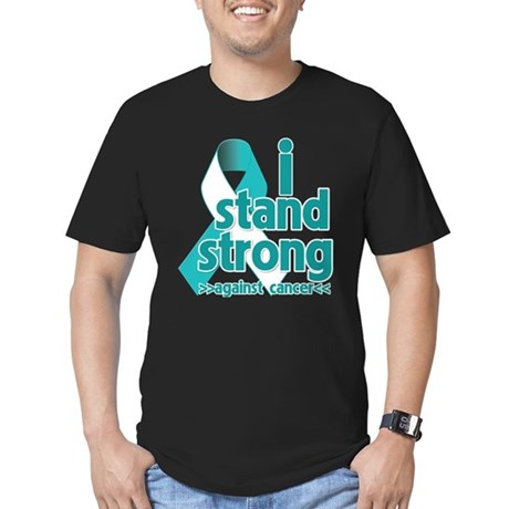 Stand Strong Cervical Cancer Men's Fitted T-Shirt
