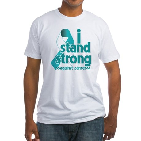 Stand Strong Cervical Cancer Fitted T-Shirt