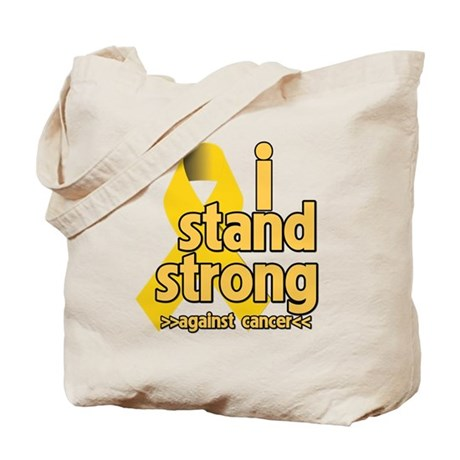 I Stand Childhood Cancer Tote Bag