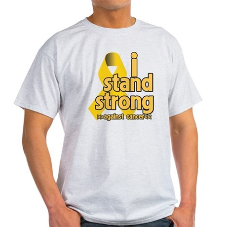I Stand Childhood Cancer Light T-Shirt