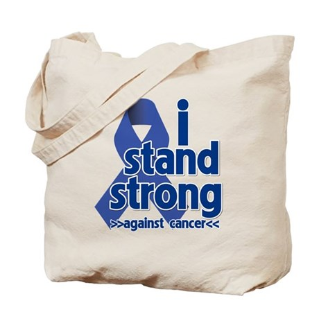 I Stand Colon Cancer Tote Bag