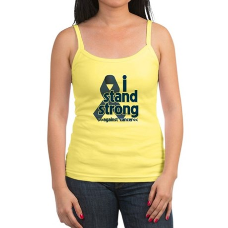 I Stand Colon Cancer Jr. Spaghetti Tank