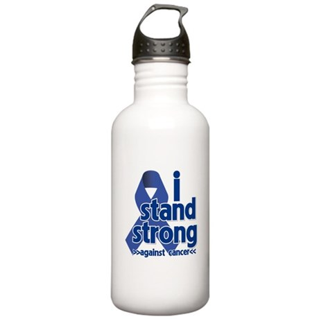 I Stand Colon Cancer Stainless Water Bottle 1.0L