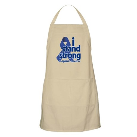 I Stand Colon Cancer Apron