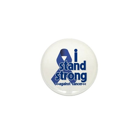 I Stand Colon Cancer Mini Button