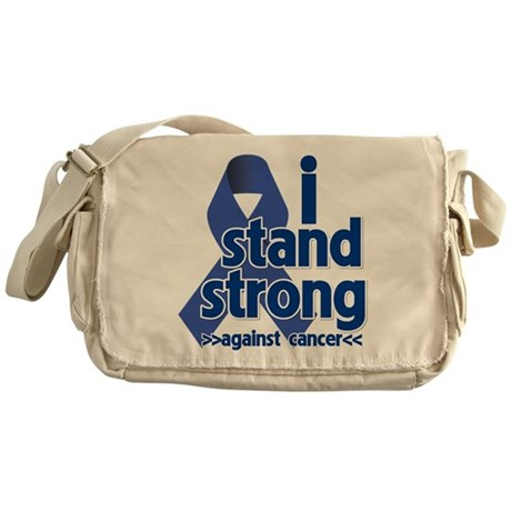 I Stand Colon Cancer Messenger Bag