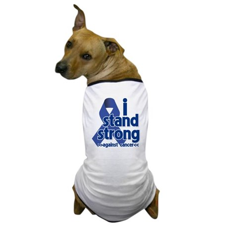 I Stand Colon Cancer Dog T-Shirt