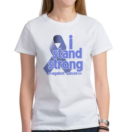 I Stand Esophageal Cancer Women's T-Shirt