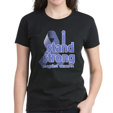 I Stand Esophageal Cancer Women's Dark T-Shirt