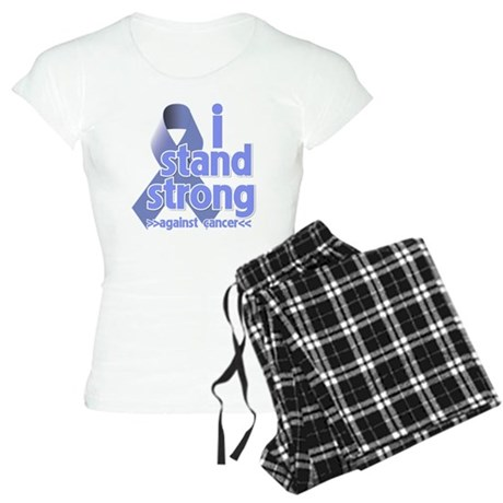 I Stand Esophageal Cancer Women's Light Pajamas