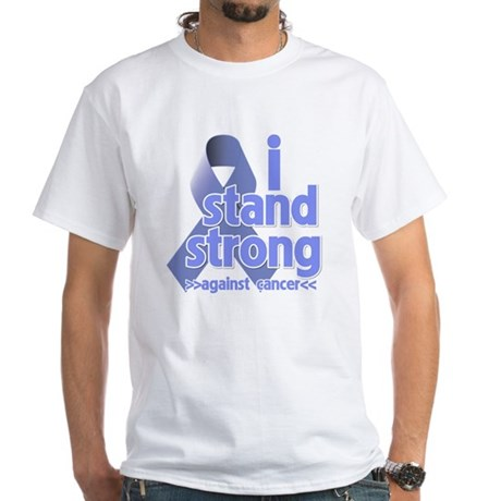 I Stand Esophageal Cancer White T-Shirt