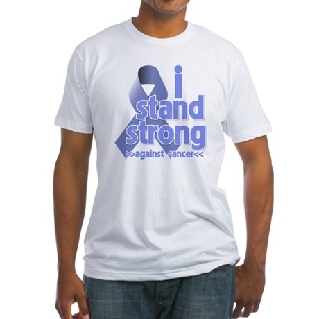 I Stand Esophageal Cancer Fitted T-Shirt