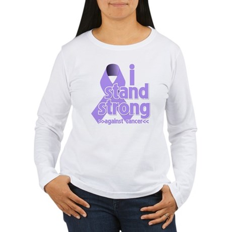 I Stand General Cancer Women's Long Sleeve T-Shirt