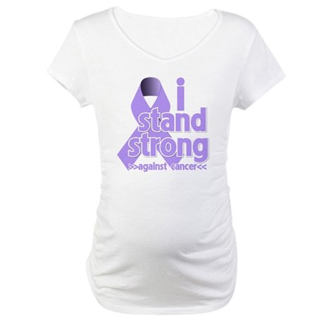 I Stand General Cancer Maternity T-Shirt