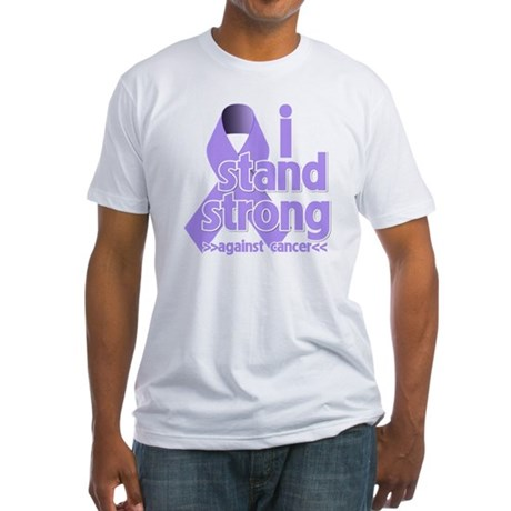 I Stand General Cancer Fitted T-Shirt