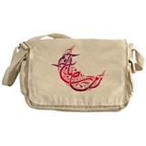 Ramadan Kareem Crescent Messenger Bag