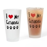 Catahoula Drinking Glass