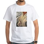 Large Abstract Flower T-Shirt