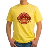 Ouray Logo Honeysuckle T
