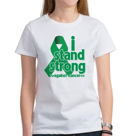 I Stand Liver Cancer Women's T-Shirt