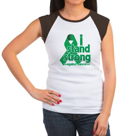 I Stand Liver Cancer Women's Cap Sleeve T-Shirt