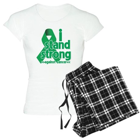 I Stand Liver Cancer Women's Light Pajamas