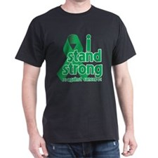 I Stand Liver Cancer T-Shirt