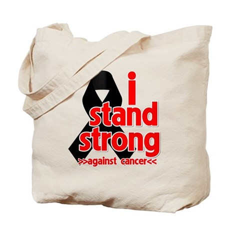 I Stand Strong Melanoma Tote Bag