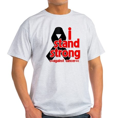 I Stand Strong Melanoma Light T-Shirt