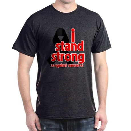 I Stand Strong Melanoma Dark T-Shirt