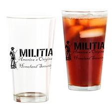 Cute Militia Drinking Glass