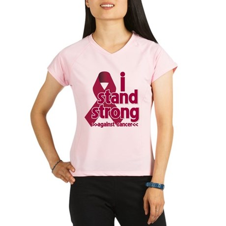 I Stand Multiple Myeloma Performance Dry T-Shirt