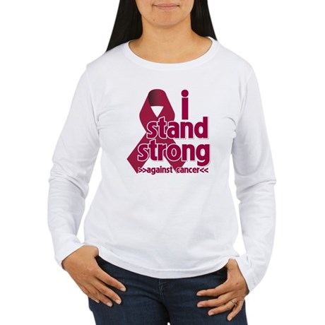 I Stand Multiple Myeloma Women's Long Sleeve T-Shi