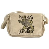 News Junkie Messenger Bag