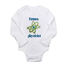 Future Physicist Long Sleeve Infant Bodysuit