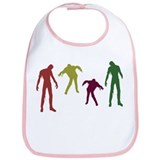 Zombies Attack! Bib