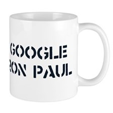 Google Ron Paul Mug