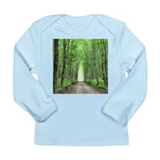 Cathedral in Road Long Sleeve Infant T-Shirt