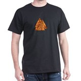 Burning Valknut T-Shirt