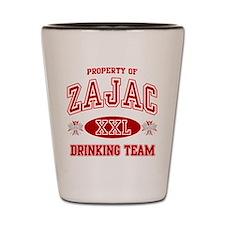 Zajac Polish Drinking Team Shot Glass