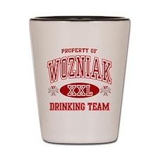 Wozniak Polish Drinking Team Shot Glass