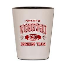 Wisnewski Polish Drinking Team Shot Glass