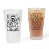 Tehuti, Ast/Isis, Amen-Ra Drinking Glass