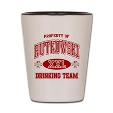 Rutkowski Polish Drinking Team Shot Glass