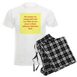 bach quotes Pajamas