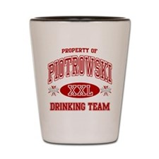 Piotrowski Polish Drinking Team Shot Glass