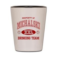 Michalski Polish Drinking Team Shot Glass