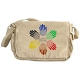Celebrate Diversity Circle Messenger Bag